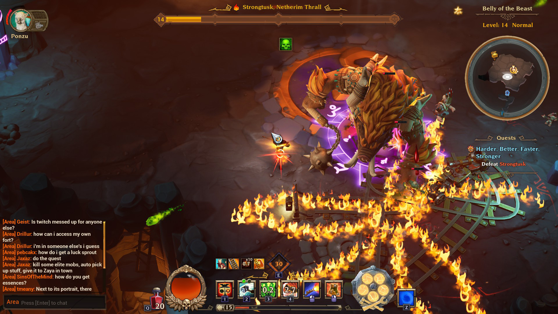 Torchlight III boss