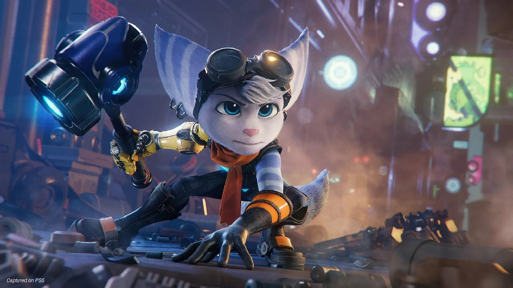 Ratchet Clank Rift Apart's Lady Lombax is a playable character