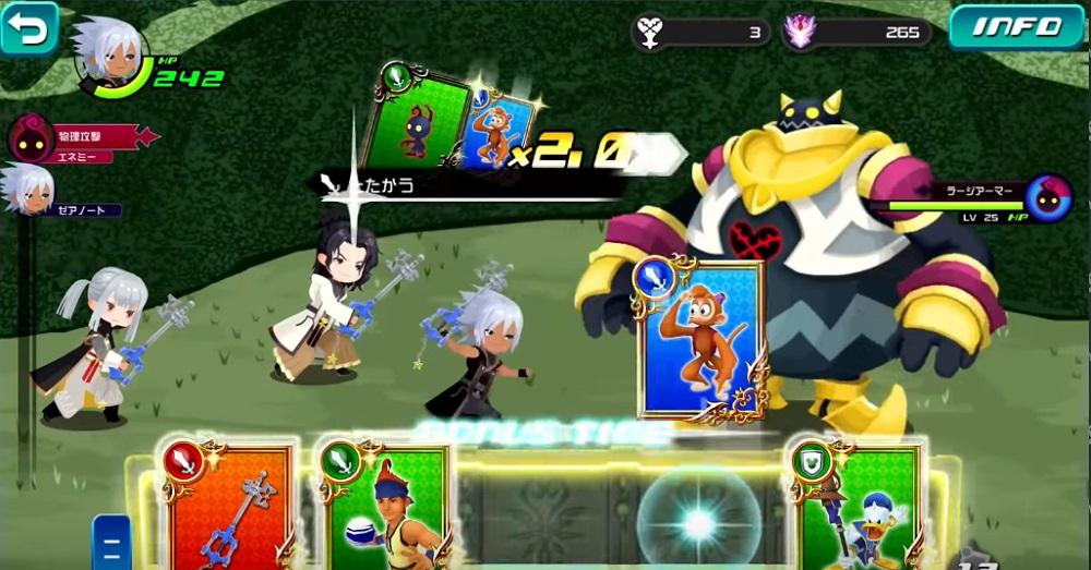 Kingdom Hearts: Dark Road will launch on mobile June 22 screenshot