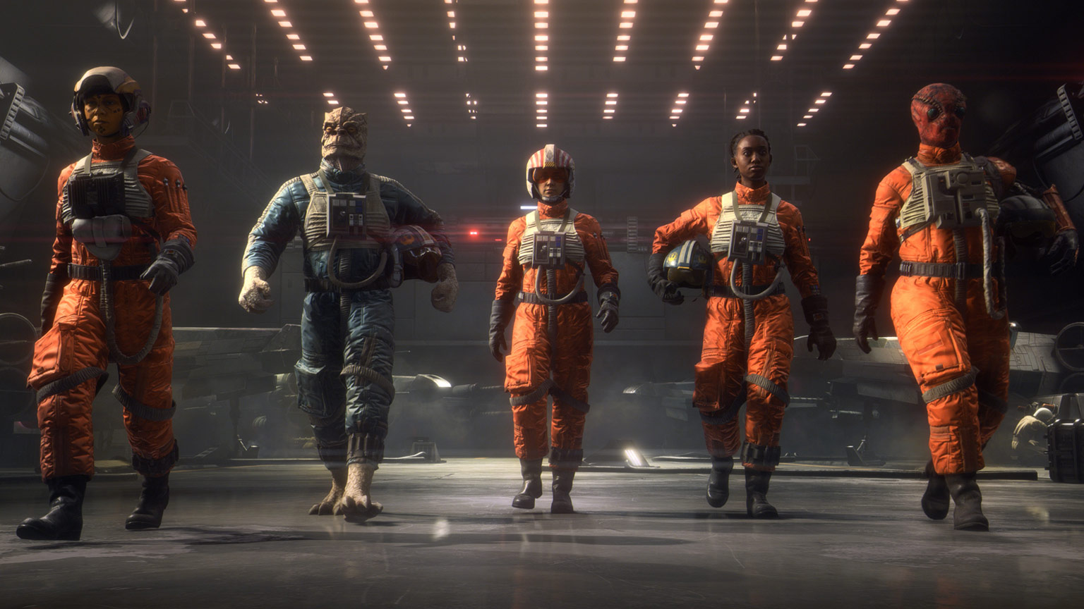 Star Wars: Squadrons will support hands on throttle-and-stick (HOTAS) rigs screenshot