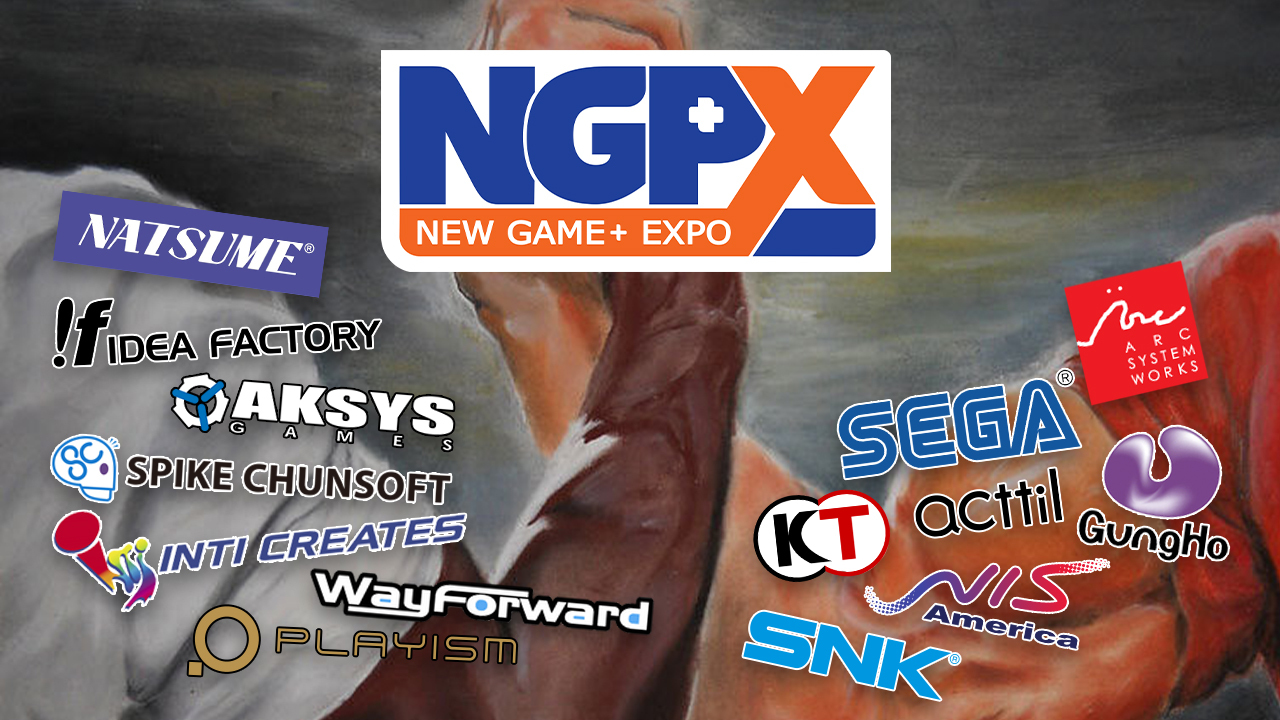 Here's the streaming schedule for New Game+ Expo featuring Atlus, Sega, and WayForward screenshot
