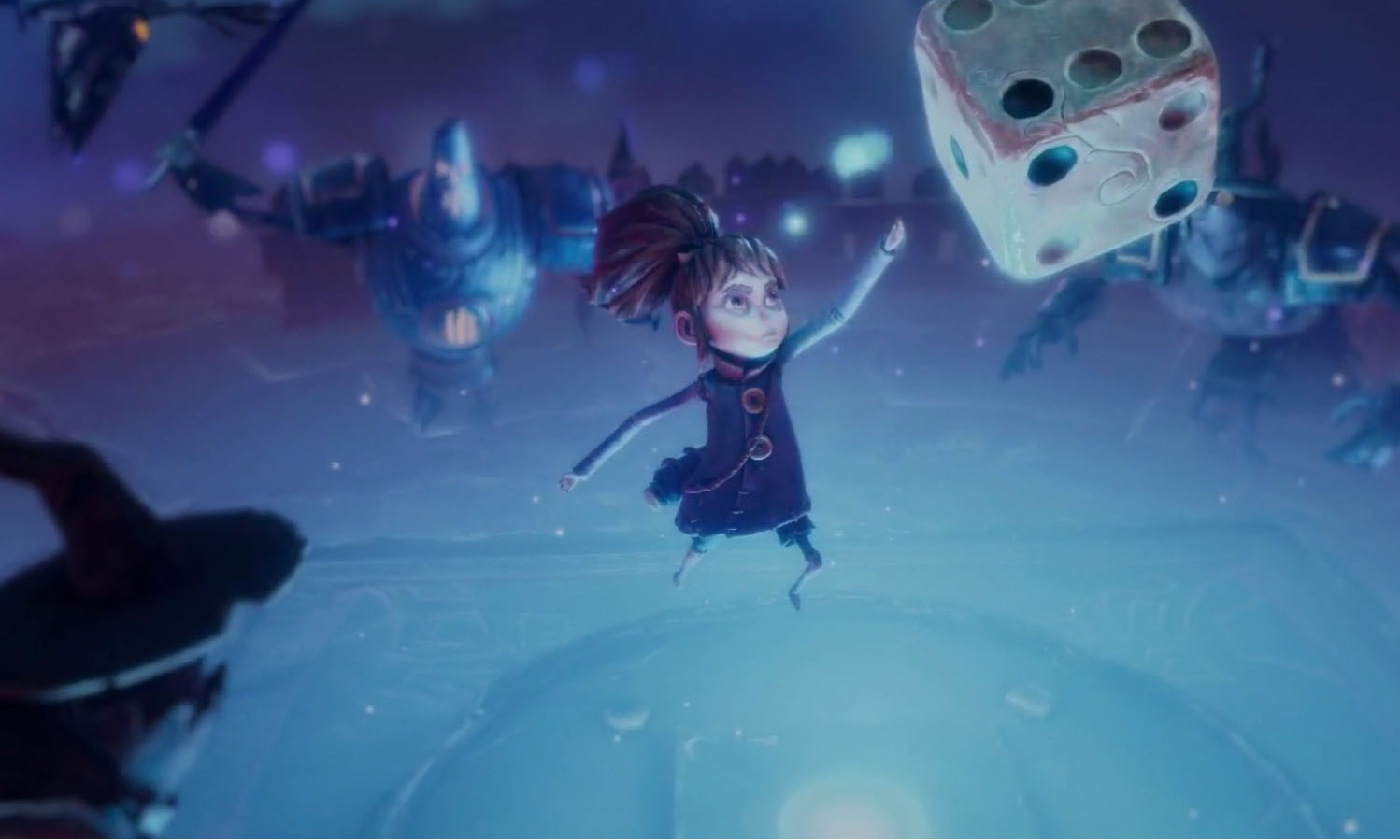 Zoink's Lost in Random is a gothic fairytale where you throw dice to break a curse screenshot