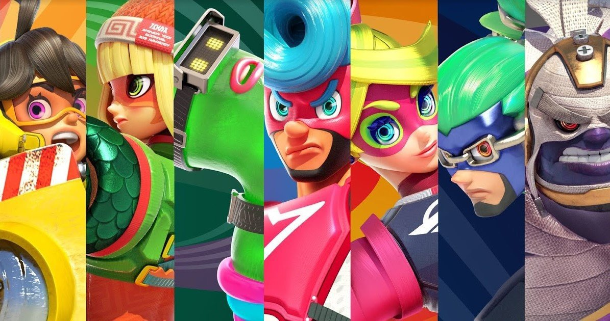 Sakurai to reveal which ARMS character is joining Smash Bros. Ultimate next week screenshot