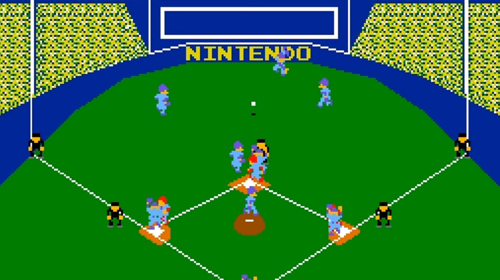 Vs. Baseball is this week's Arcade Archives release for Switch screenshot