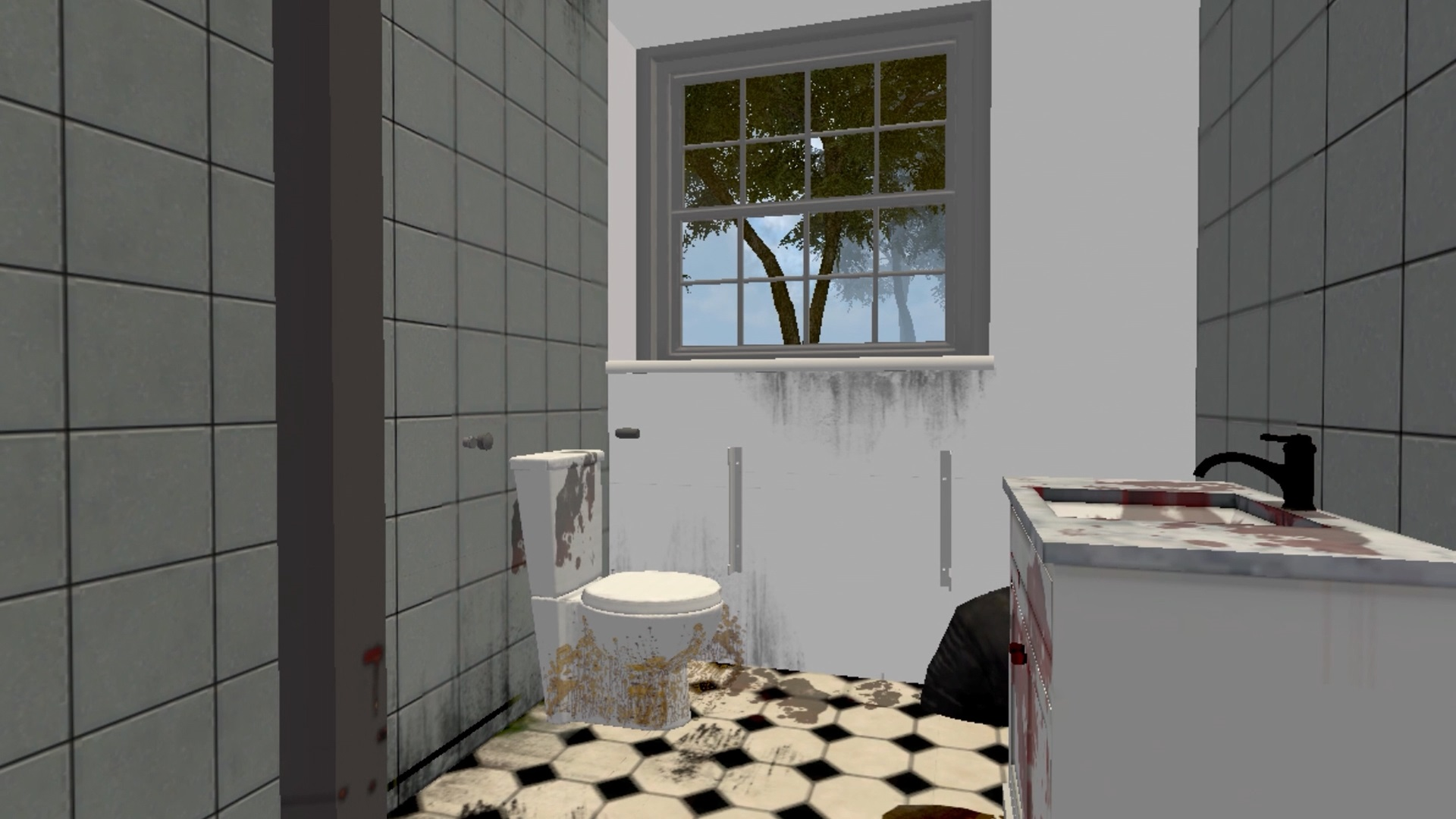 House Flipper Switch contest win dirty toilet