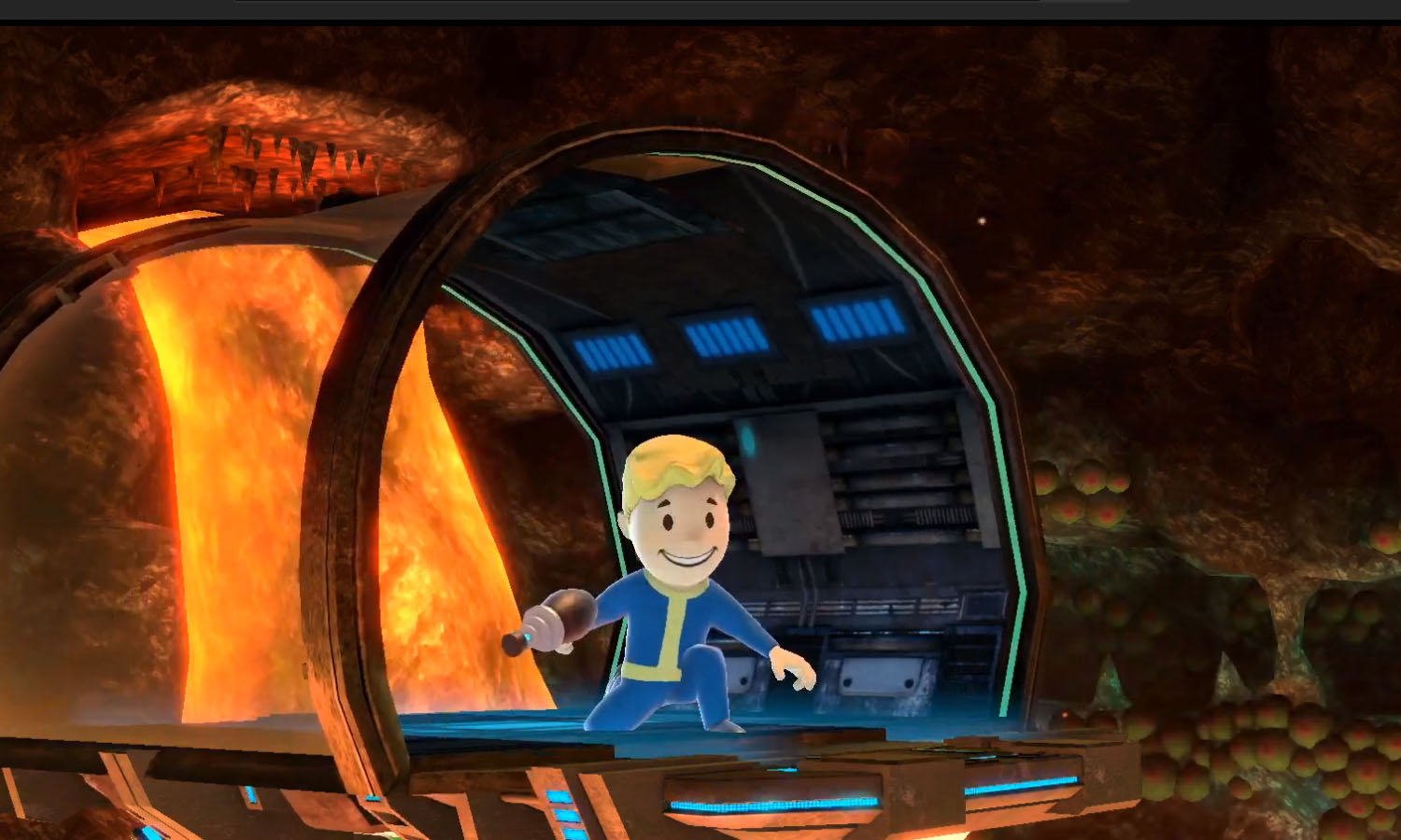Fallout is crossing over to Smash Ultimate in Mii Fighter form screenshot