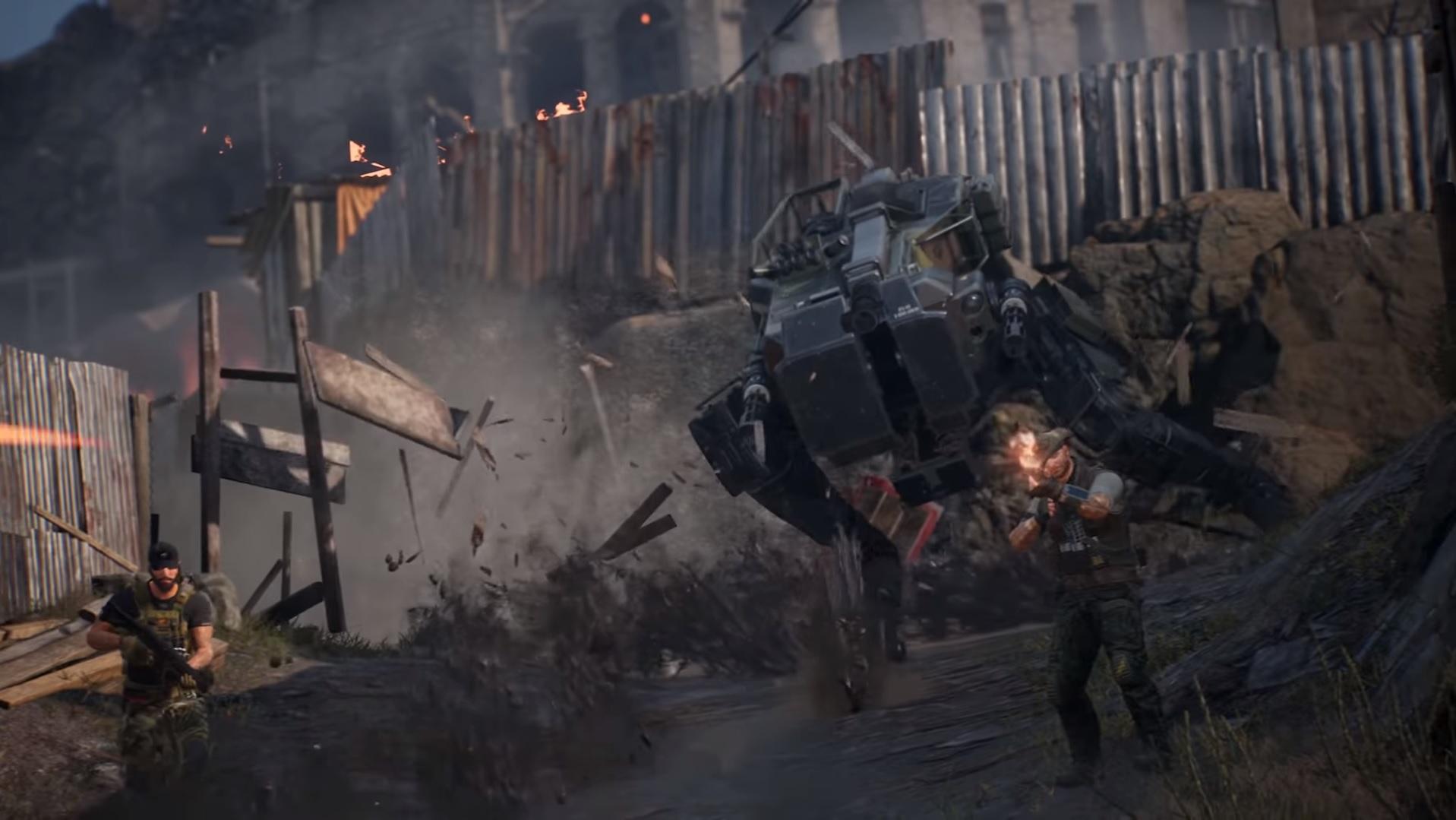 Is...Is this a Metal Gear Solid Walker in CrossfireX? screenshot