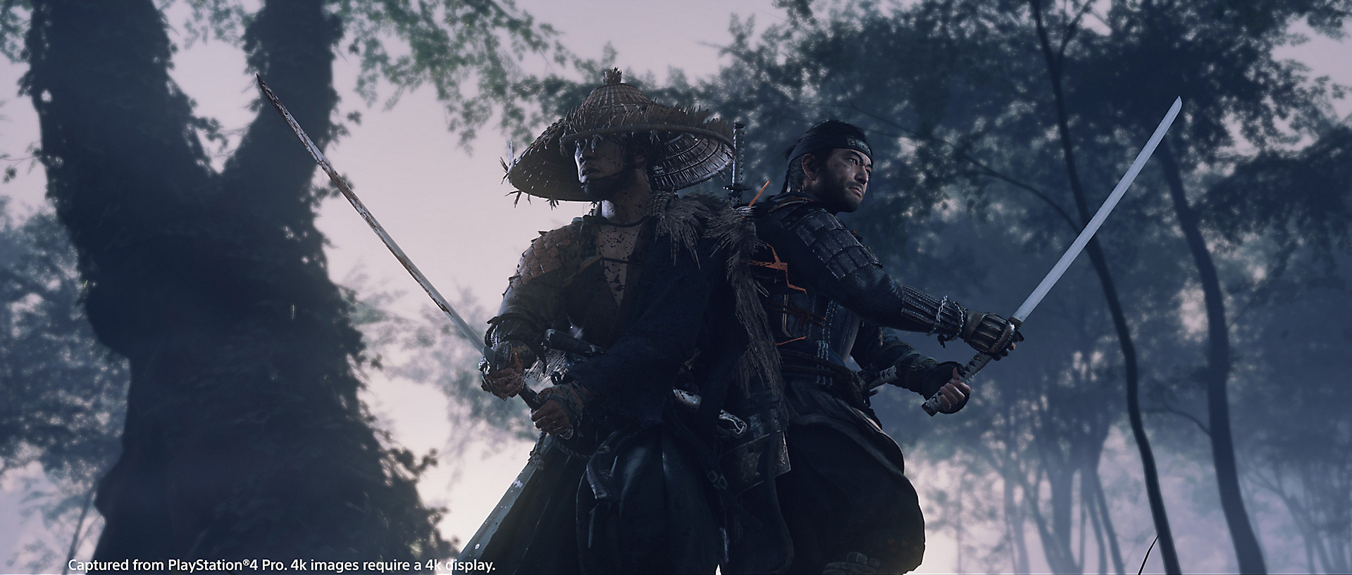 Ghost of Tsushima has a 'perfect parry' and attack canceling screenshot