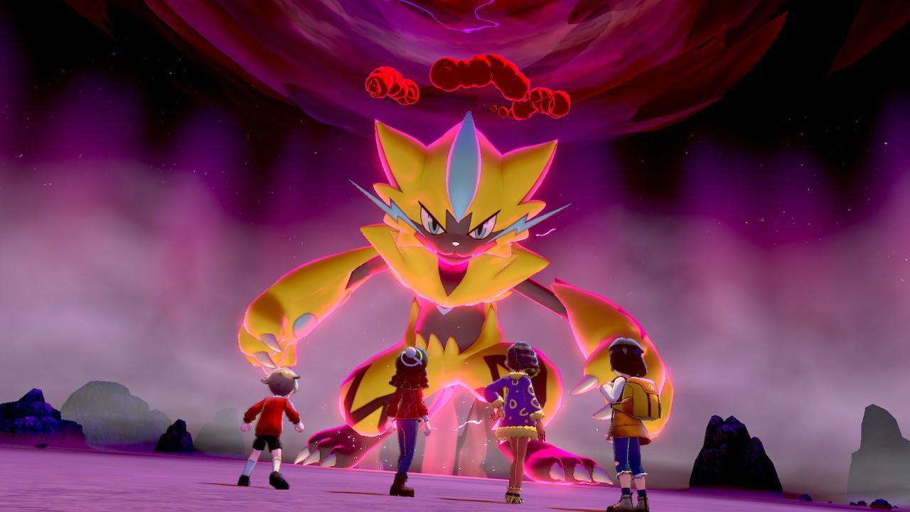 Pokemon Sword and Shield DLC players have already unlocked the special Shiny Zeraora screenshot