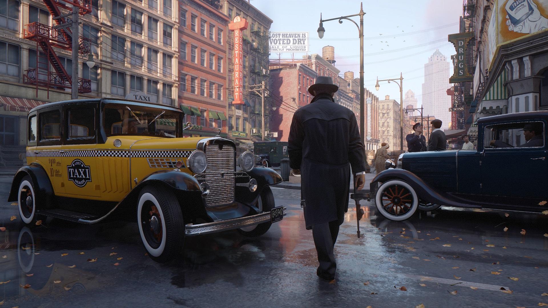 The Mafia remake has a slider to control cop aggression screenshot