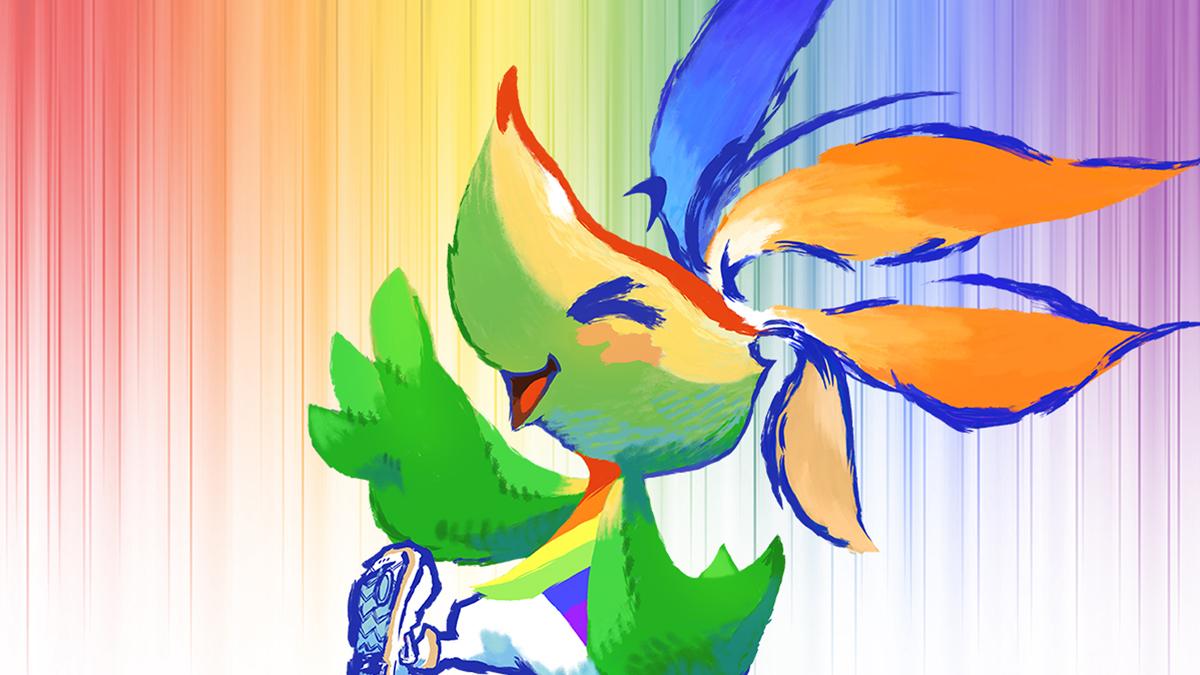Square Enix creates a Pride mascot and oh crap it's still Pride month screenshot