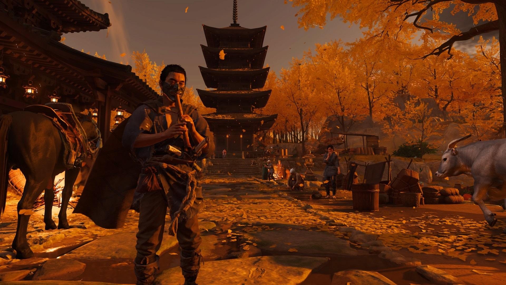 Review: Ghost of Tsushima screenshot