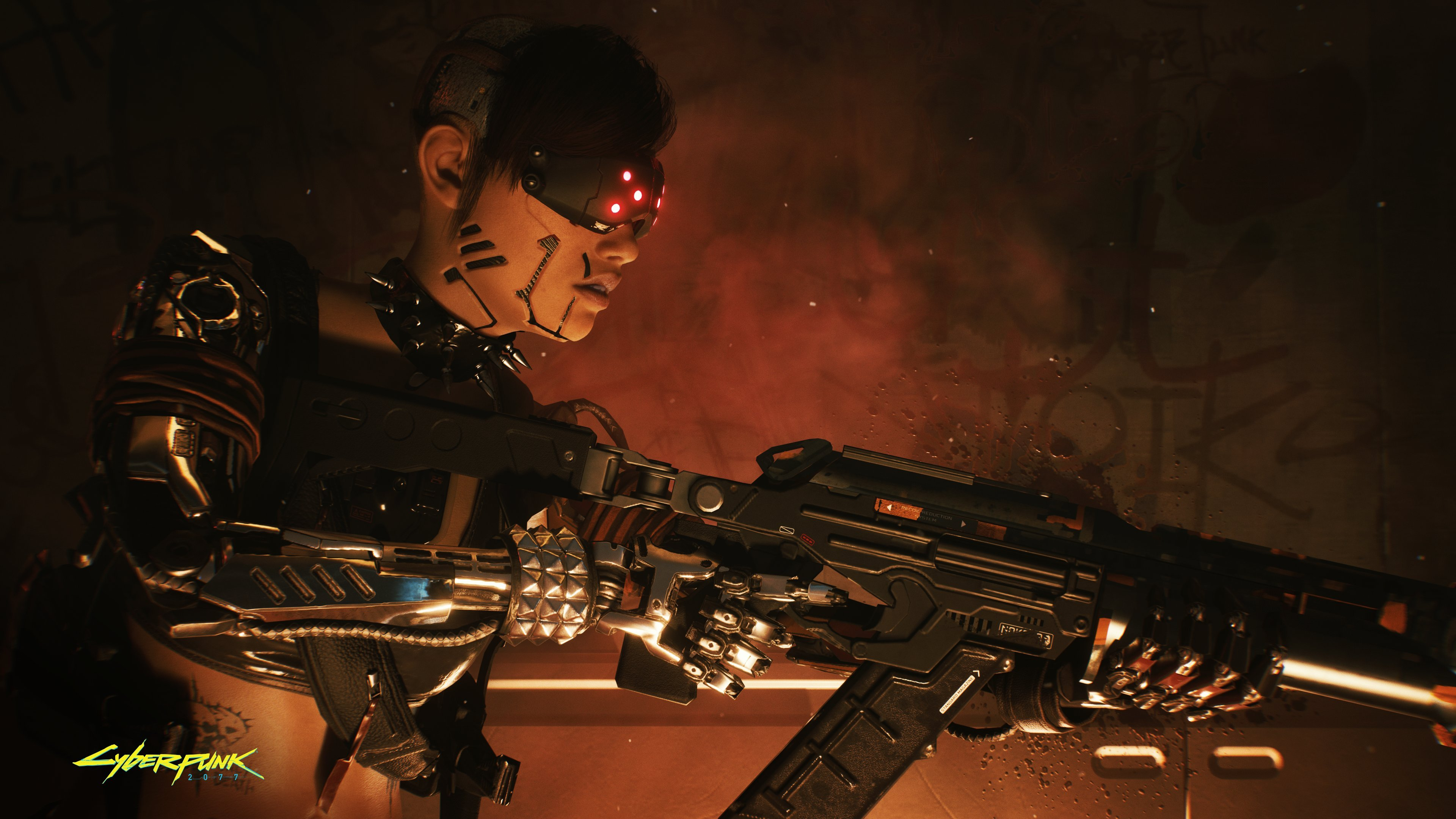 Will Cyberpunk 2077 let you use laser beams on your junk, the only way to completely obliterate the follicle? screenshot