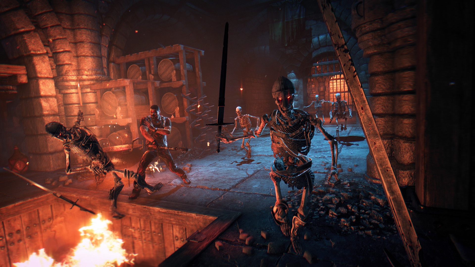 Techland's Hellraid will finally see the light of day on July 23 as Dying Light DLC screenshot