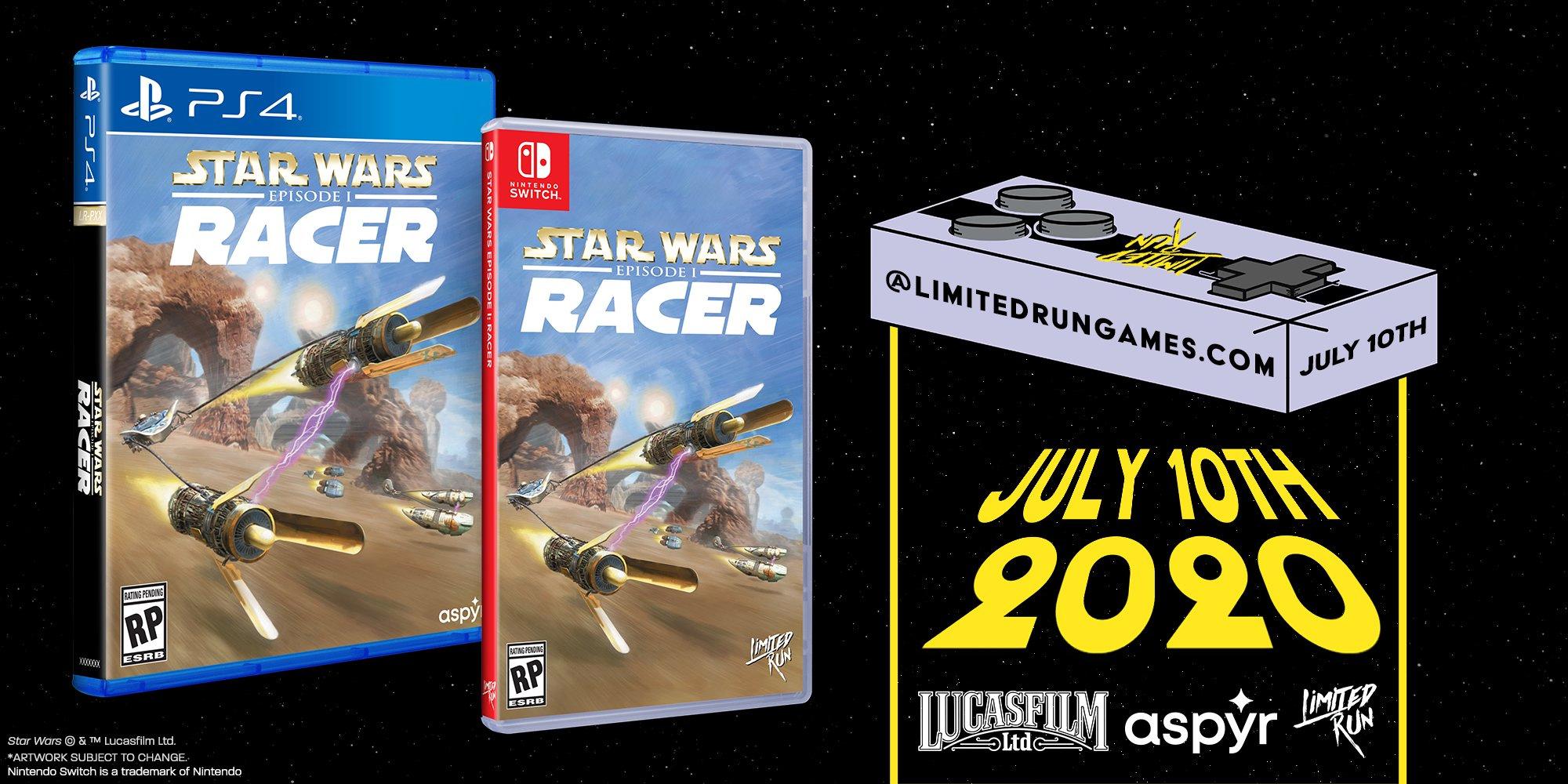 Star Wars Episode I: Racer standard edition Limited Run Games