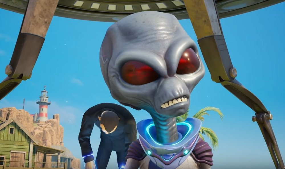 Crypto is wready to wreck in new Destroy All Humans! trailer screenshot
