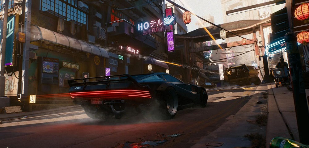 You could play Cyberpunk 2077 in 'GTA mode', but CDPR hopes you dig deeper screenshot