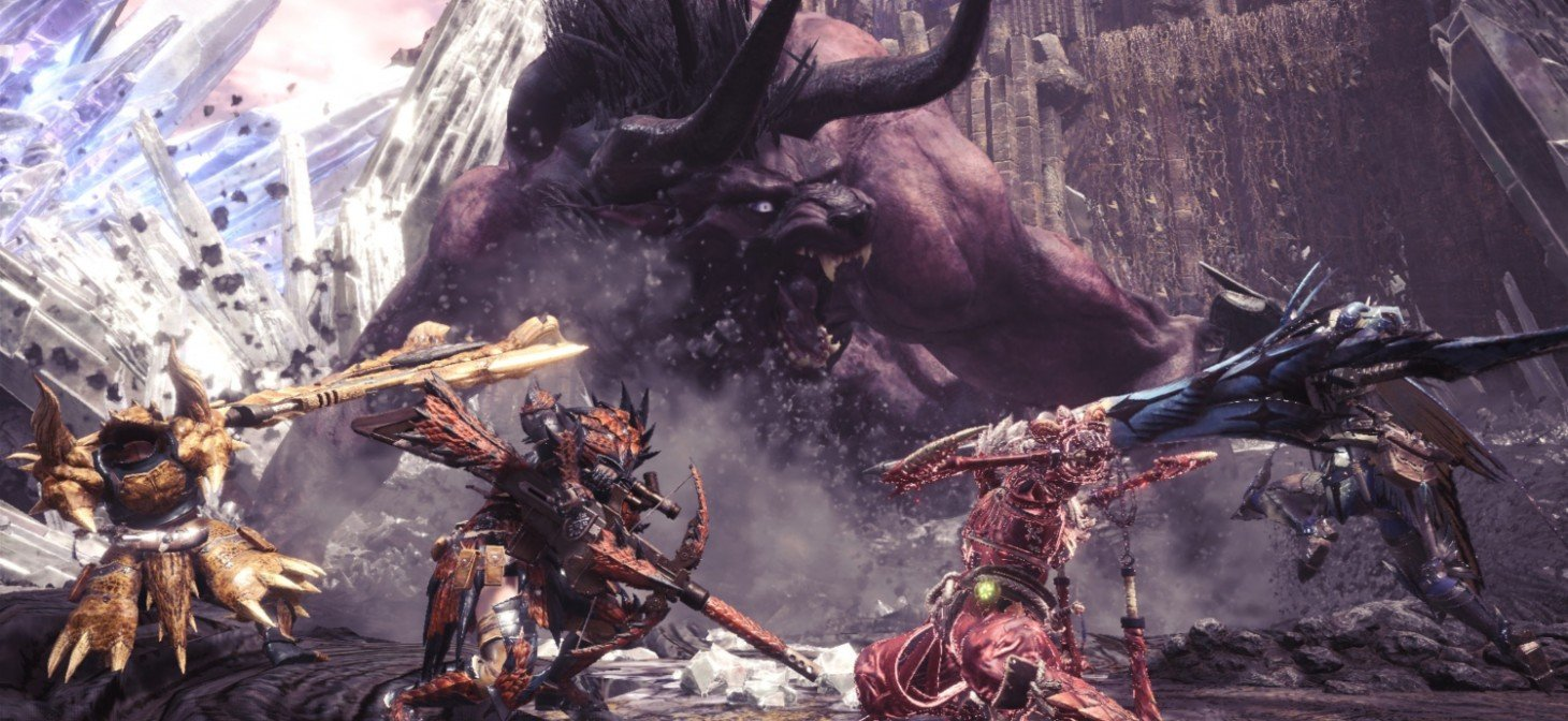 Capcom says it has 'no plans for Monster Hunter: World on Switch,' but hints at another possible Switch project screenshot