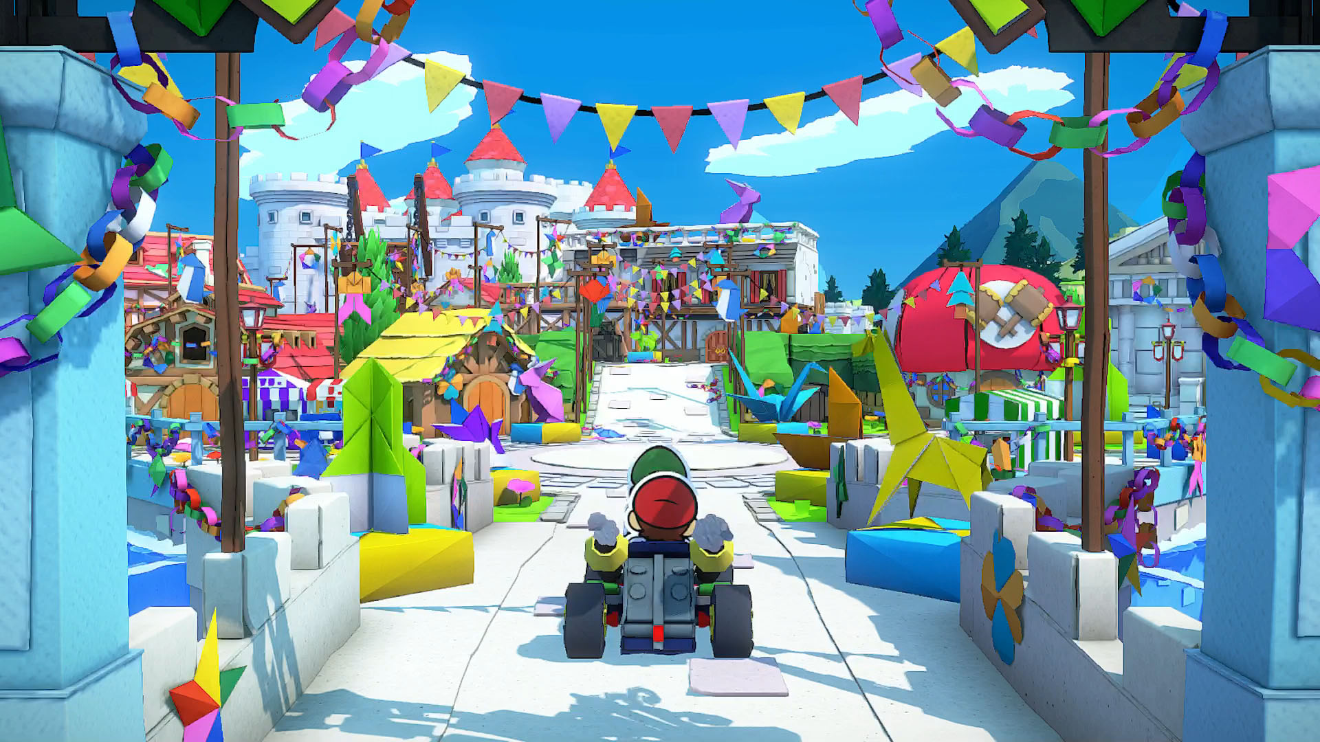 Review: Paper Mario: The Origami King screenshot