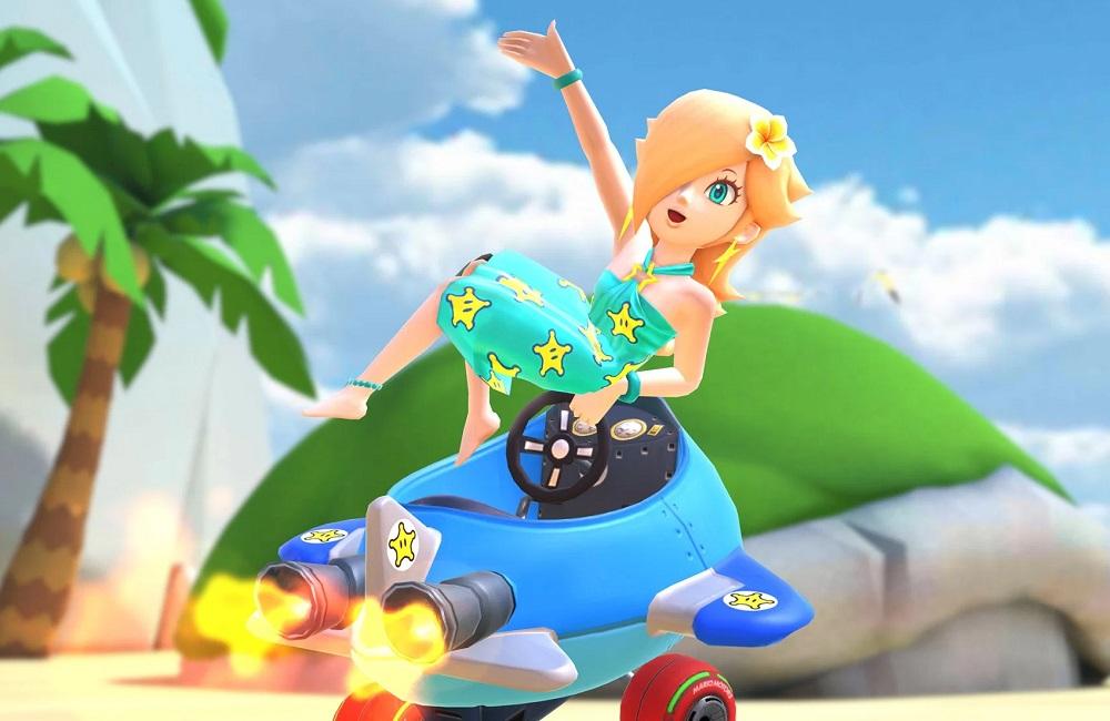 Mario Kart Tour hits the beach with new Marine Tour screenshot
