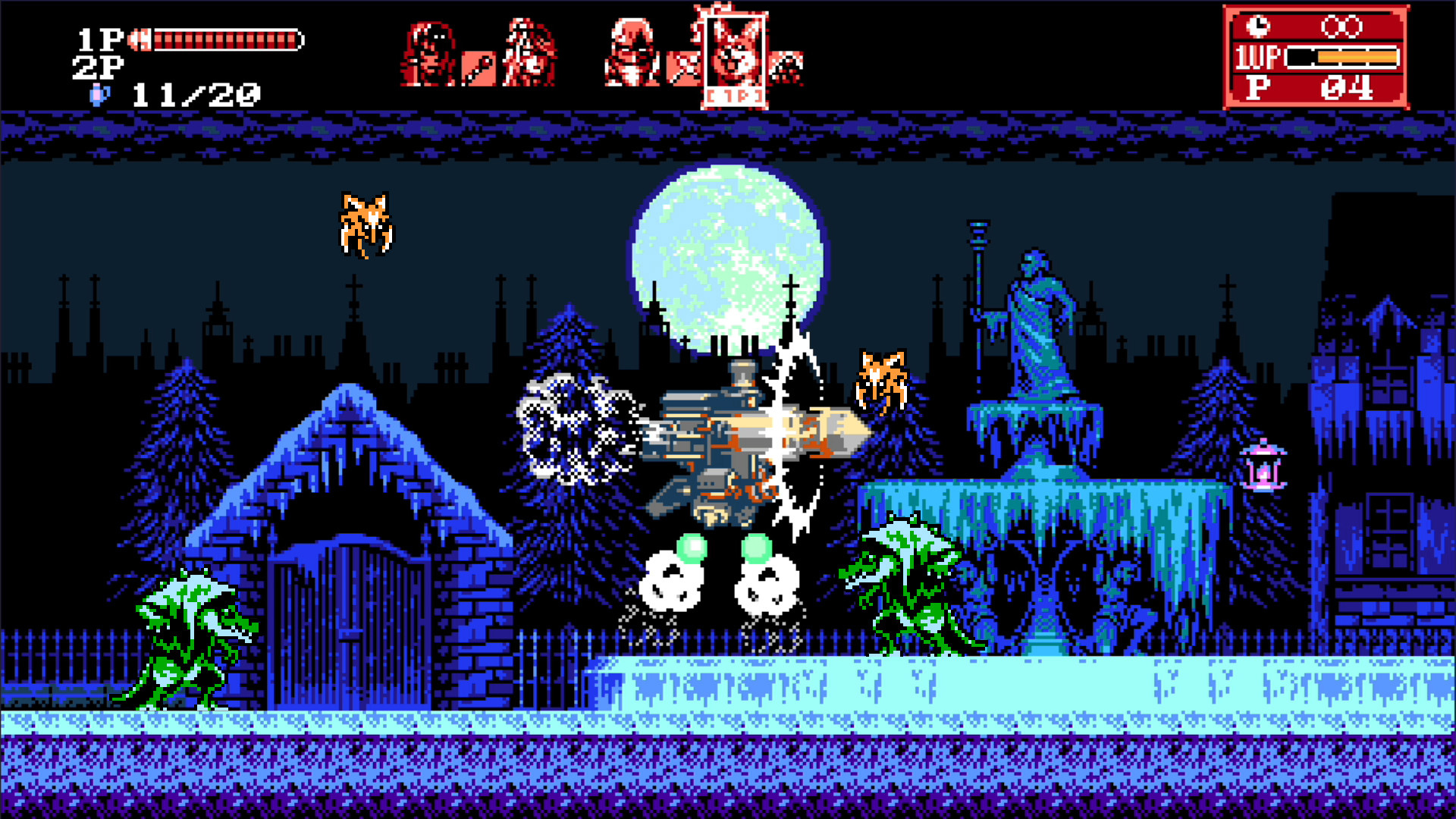 Review: Bloodstained: Curse of the Moon 2 screenshot