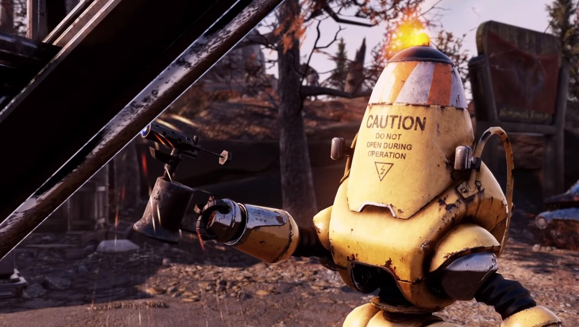 Fallout 76's next big update hits the public test server next week screenshot