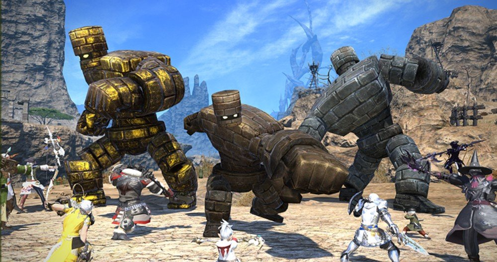 Final Fantasy XIV is bringing back the Dragon Quest crossover event screenshot