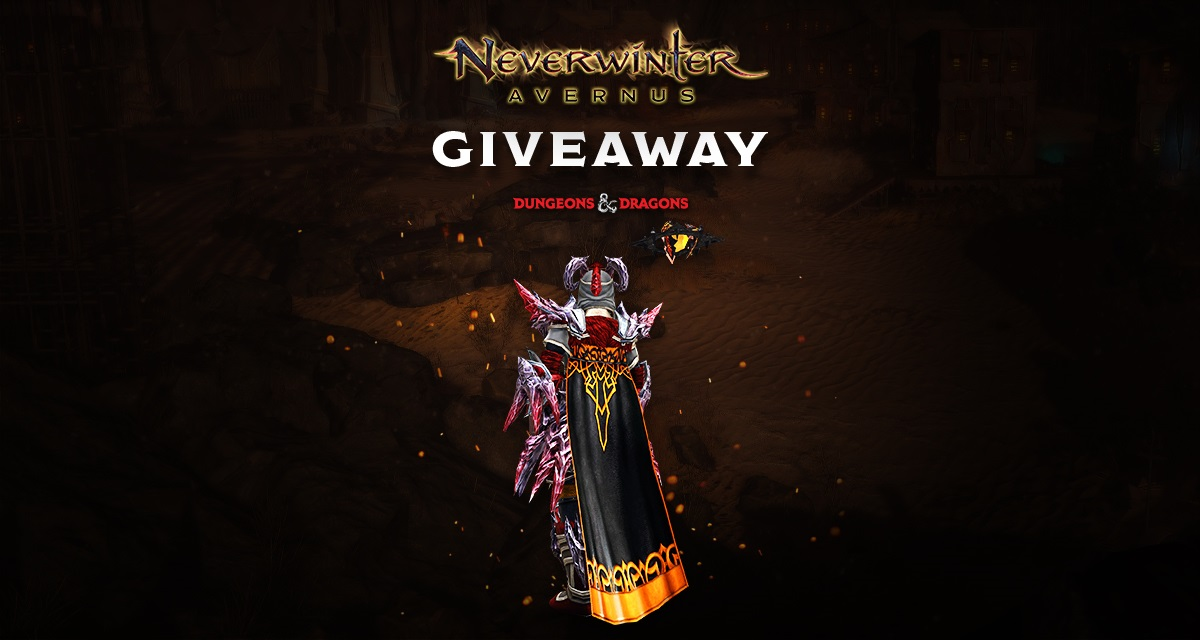 Giveaway: Take a Gift of the Twisted Noble key for Neverwinter Avernus