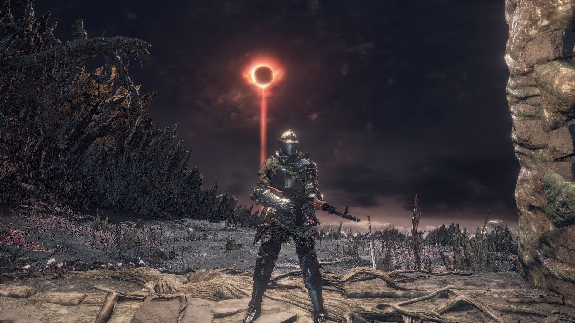Sun's out, guns out (literally) in this Dark Souls III mod