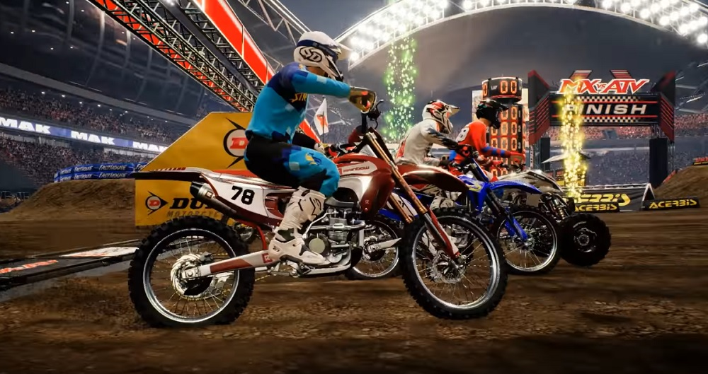 MX vs. ATV All Out comes skidding onto Switch in September
