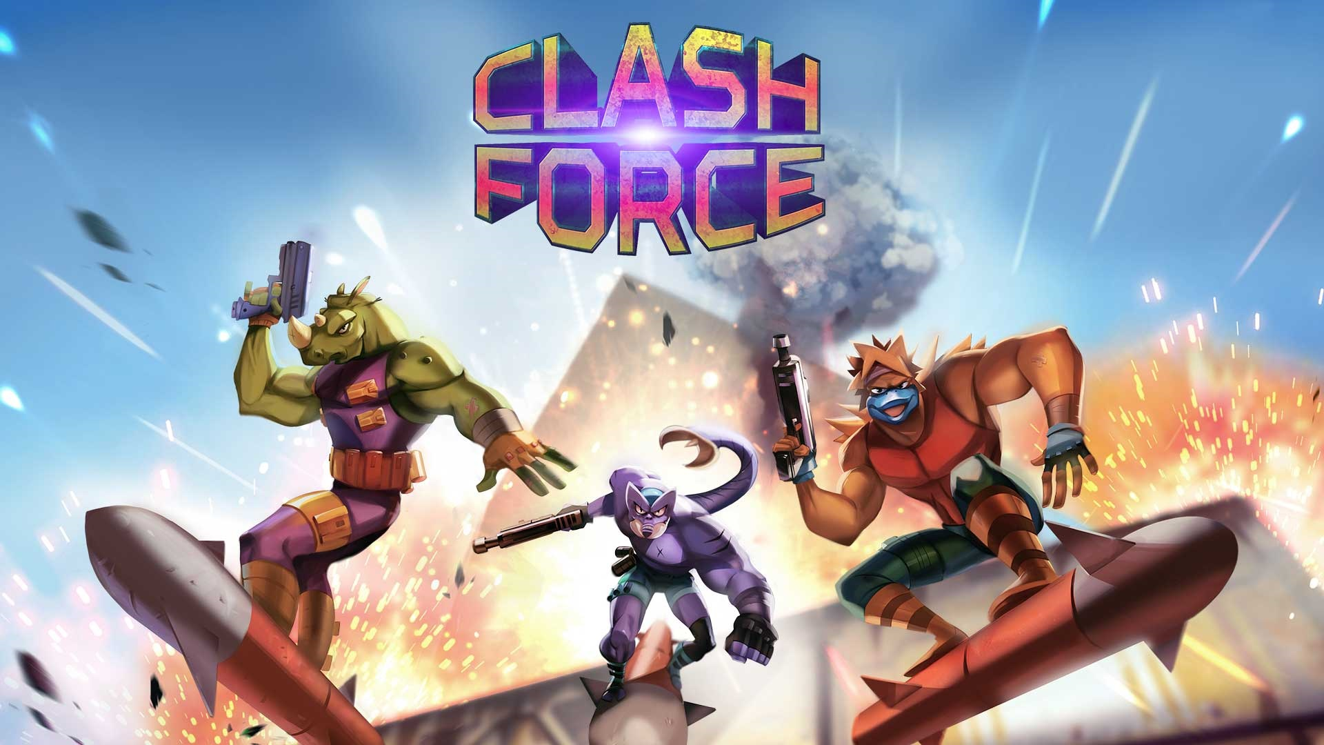 Contest: Win Clash Force for Switch, PS4, or Xbox One screenshot