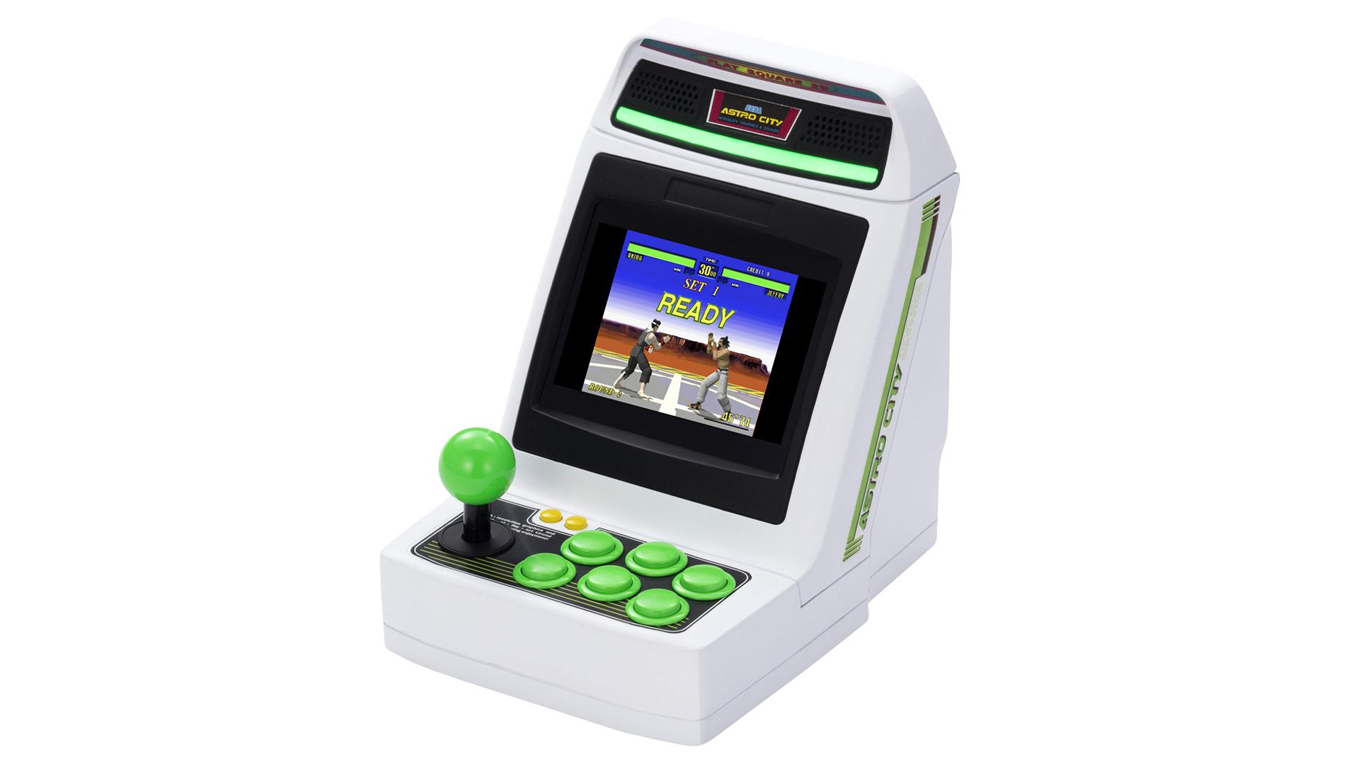 Sega is cramming 36 games into the Astro City Mini arcade cabinet