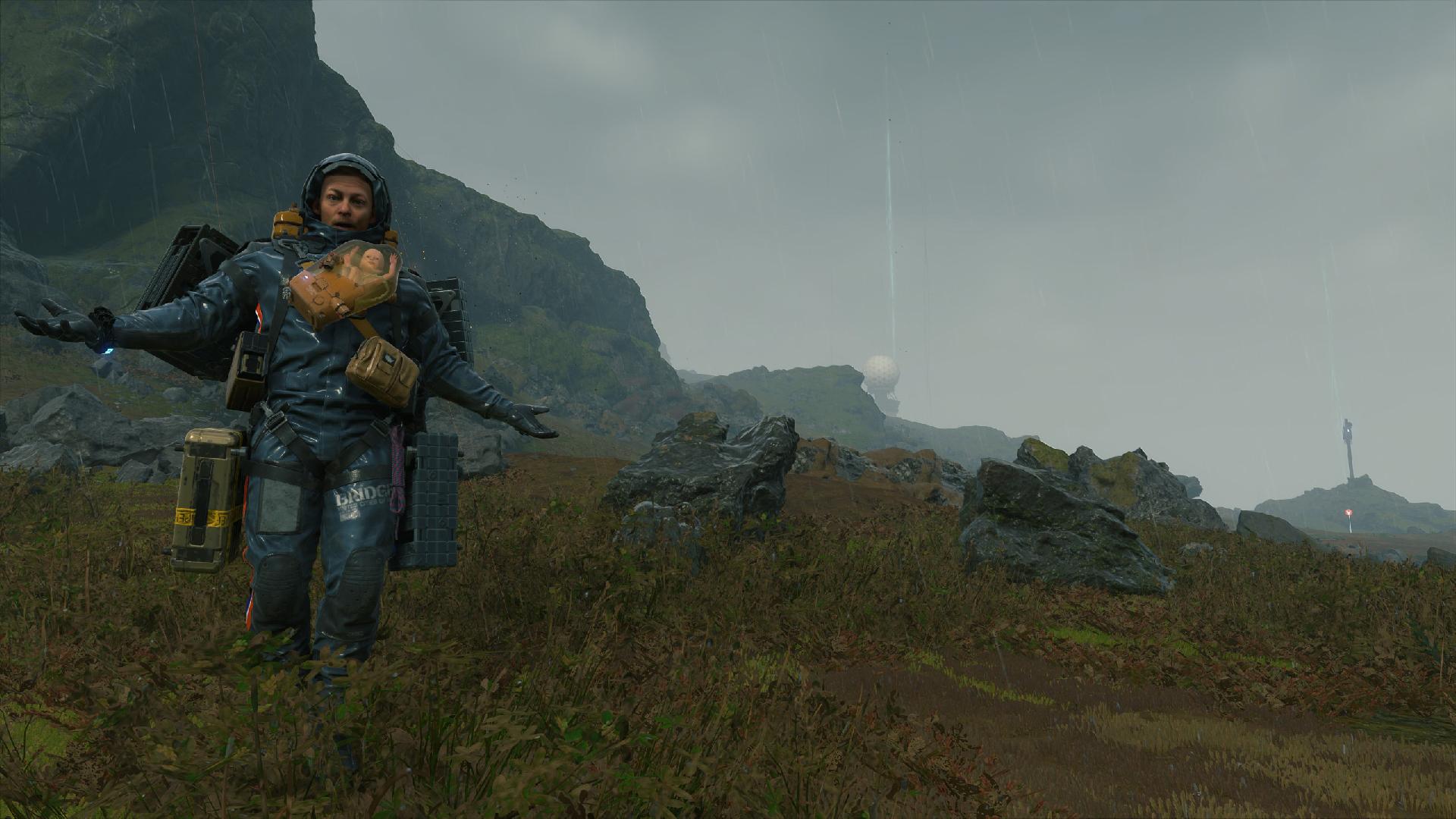 Death Stranding on PC has a Half-Life crossover and runs beautifully screenshot