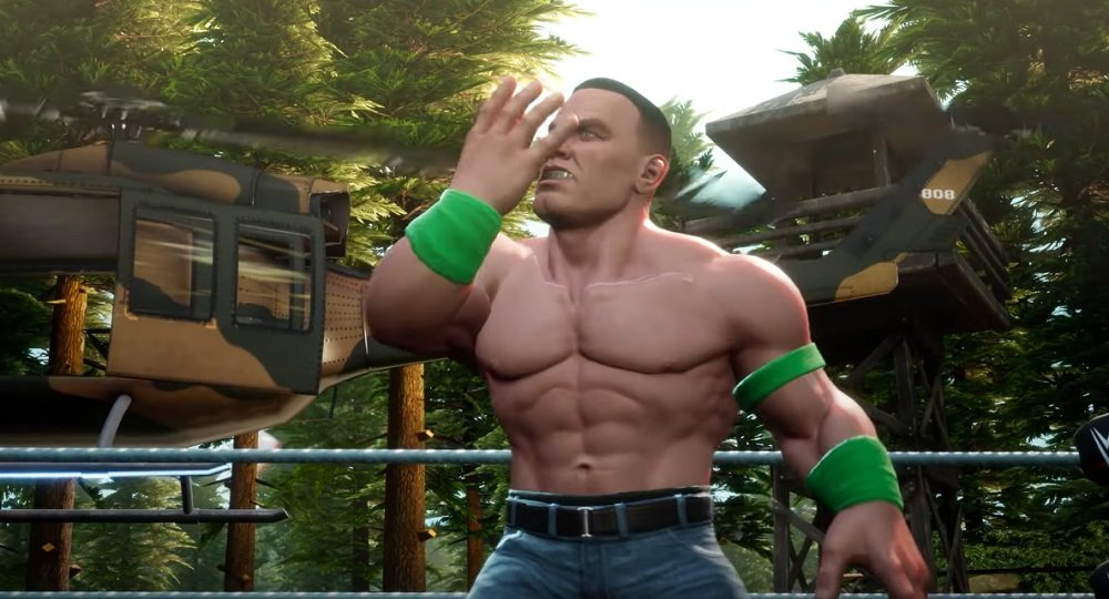 WWE 2K Battlegrounds launches September 18, features over 70 playable wrestlers screenshot