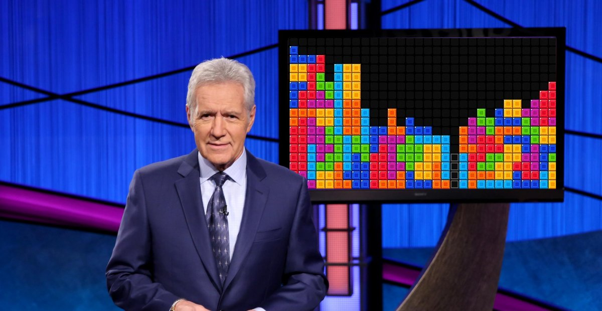 Win money by playing Tetris mobile in a new nightly game show screenshot