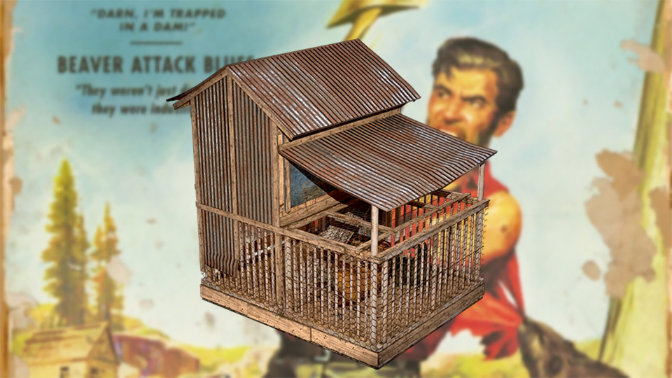 Fallout 76 Chicken Coop
