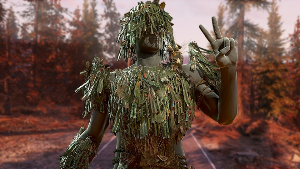Fallout 76 Ghillie Armor Paint