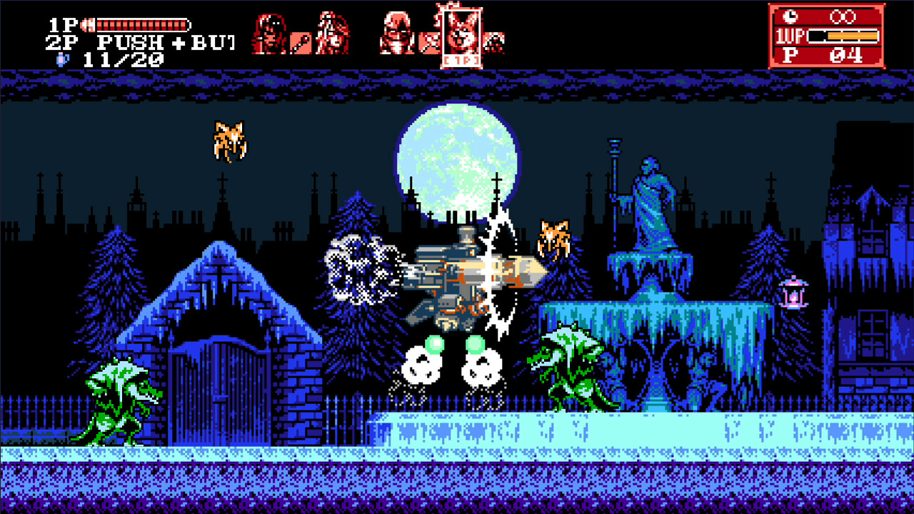 Nintendo Download: Bloodstained: Curse of the Moon 2 screenshot