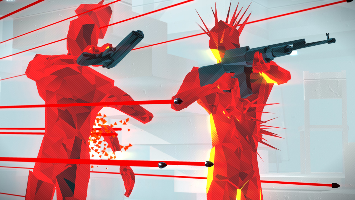 Superhot: Mind Control Delete launches next week and you can get it for free screenshot