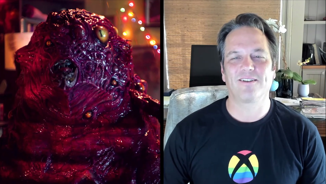 Now this picture of Phil Spencer and a demon monster will show up in Google Images screenshot