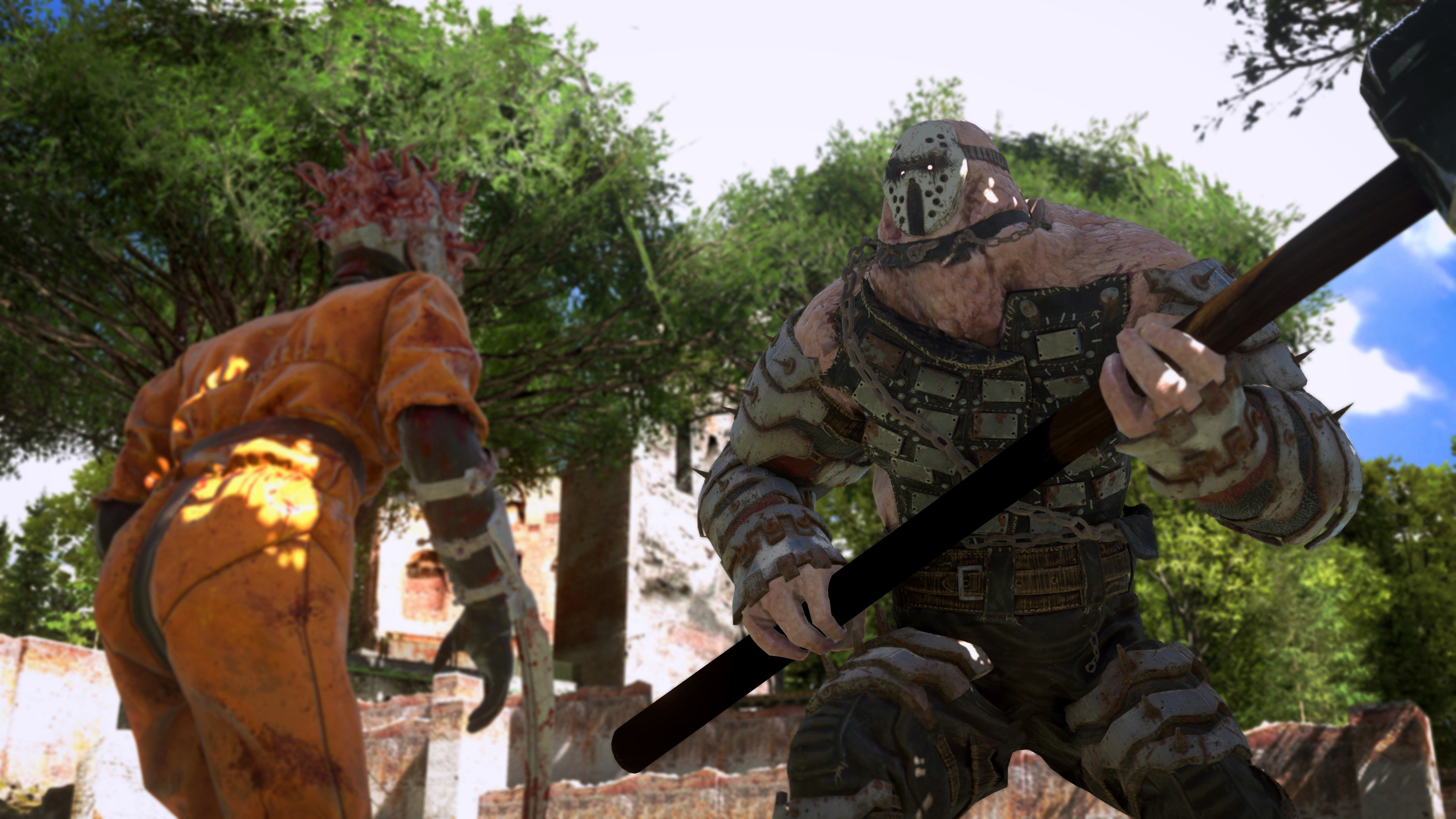 It's no information and all trailer in the newest Serious Sam 4 update screenshot