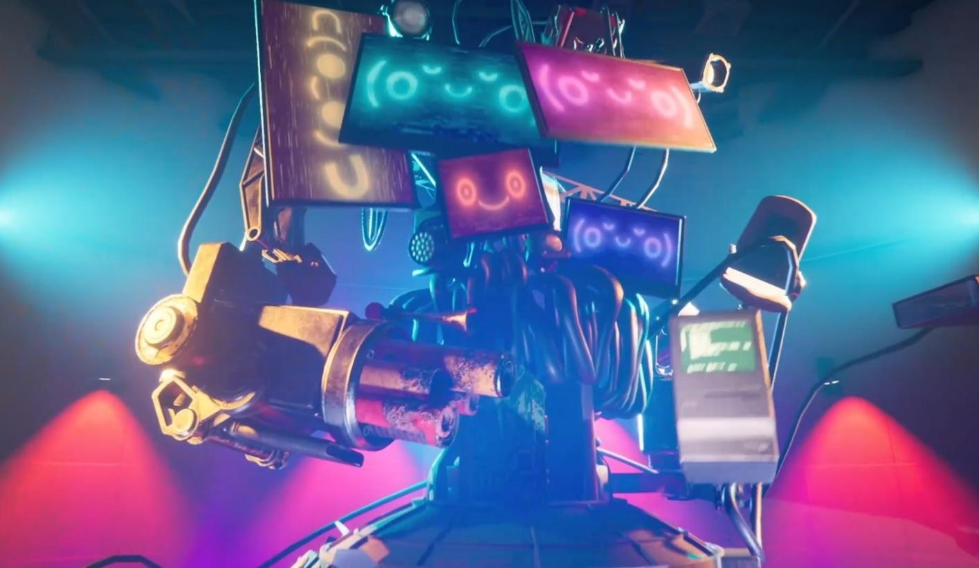 Experience the nightmare world of E3 in DevolverLand Expo screenshot