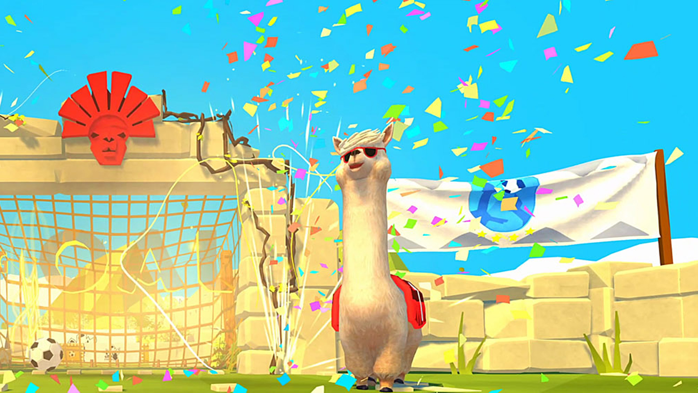Rocket League is for suckers; Alpaca Ball is where it's at screenshot