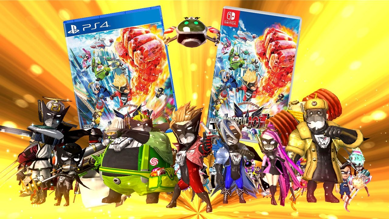 Contest: Win The Wonderful 101: Remastered in physical form for Switch or PS4 screenshot