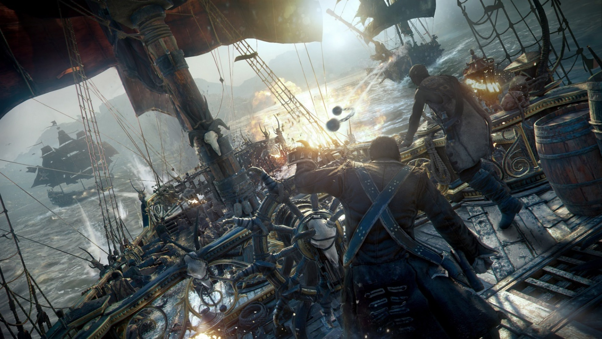 Skull & Bones has reportedly been turned into a live service game screenshot