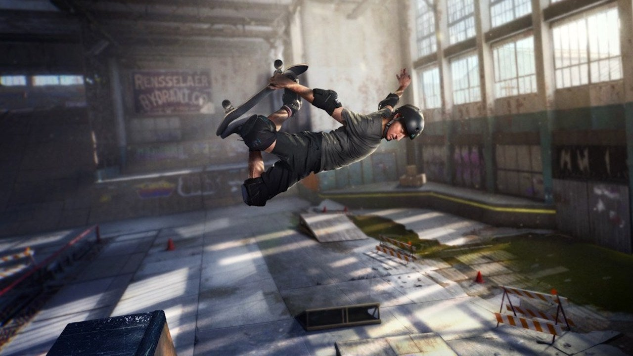 Tony Hawk says that he wants to bring Pro Skater 3 and 4 back to life, then 'work on a new direction' for the series screenshot