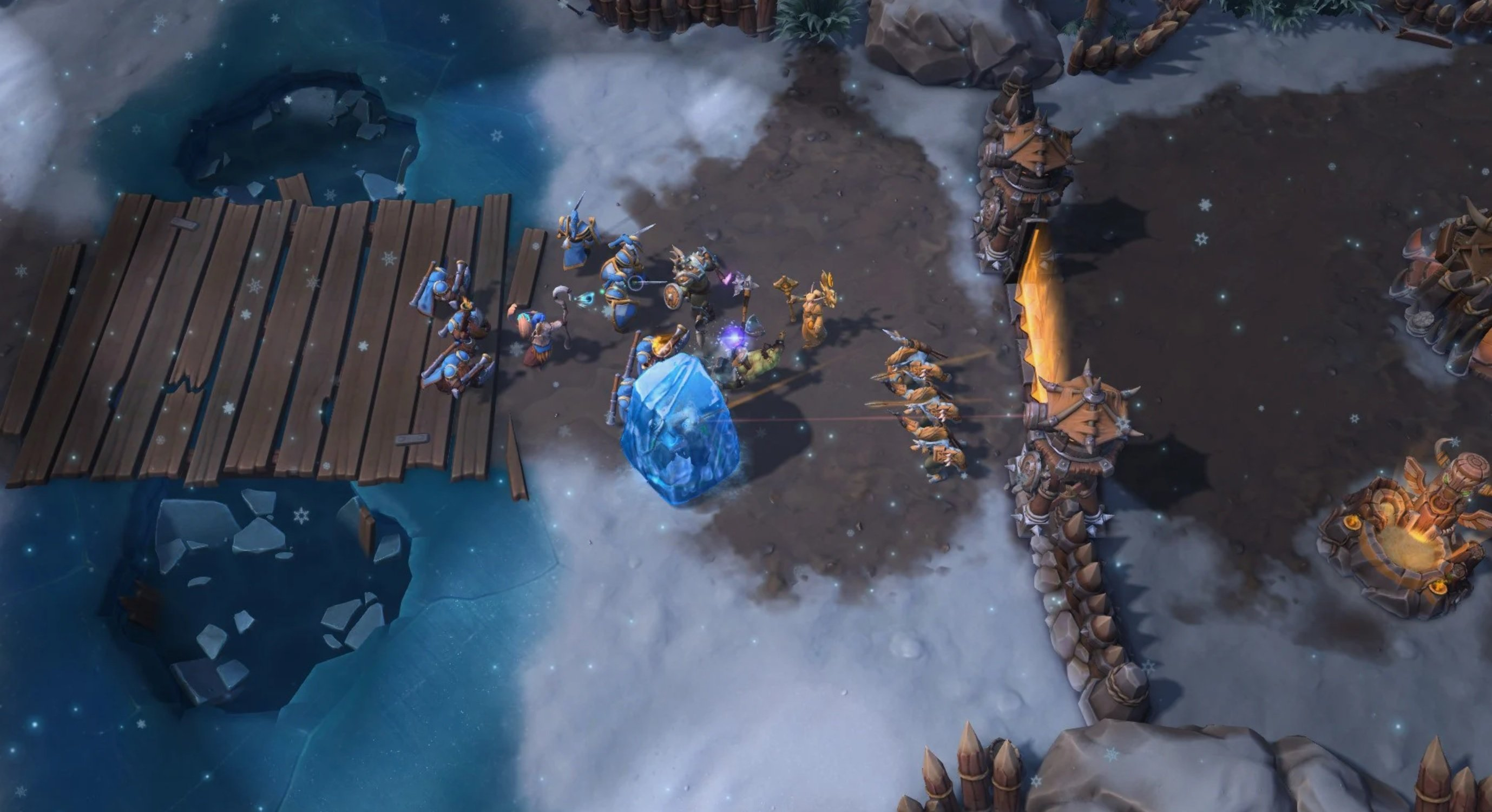 After overwhelming fan feedback, Blizzard removed the climate mechanic from Heroes of the Storm
