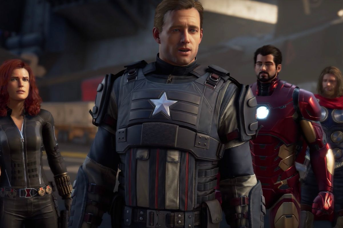 You'll be able to try out the alright-looking Avengers game next month screenshot