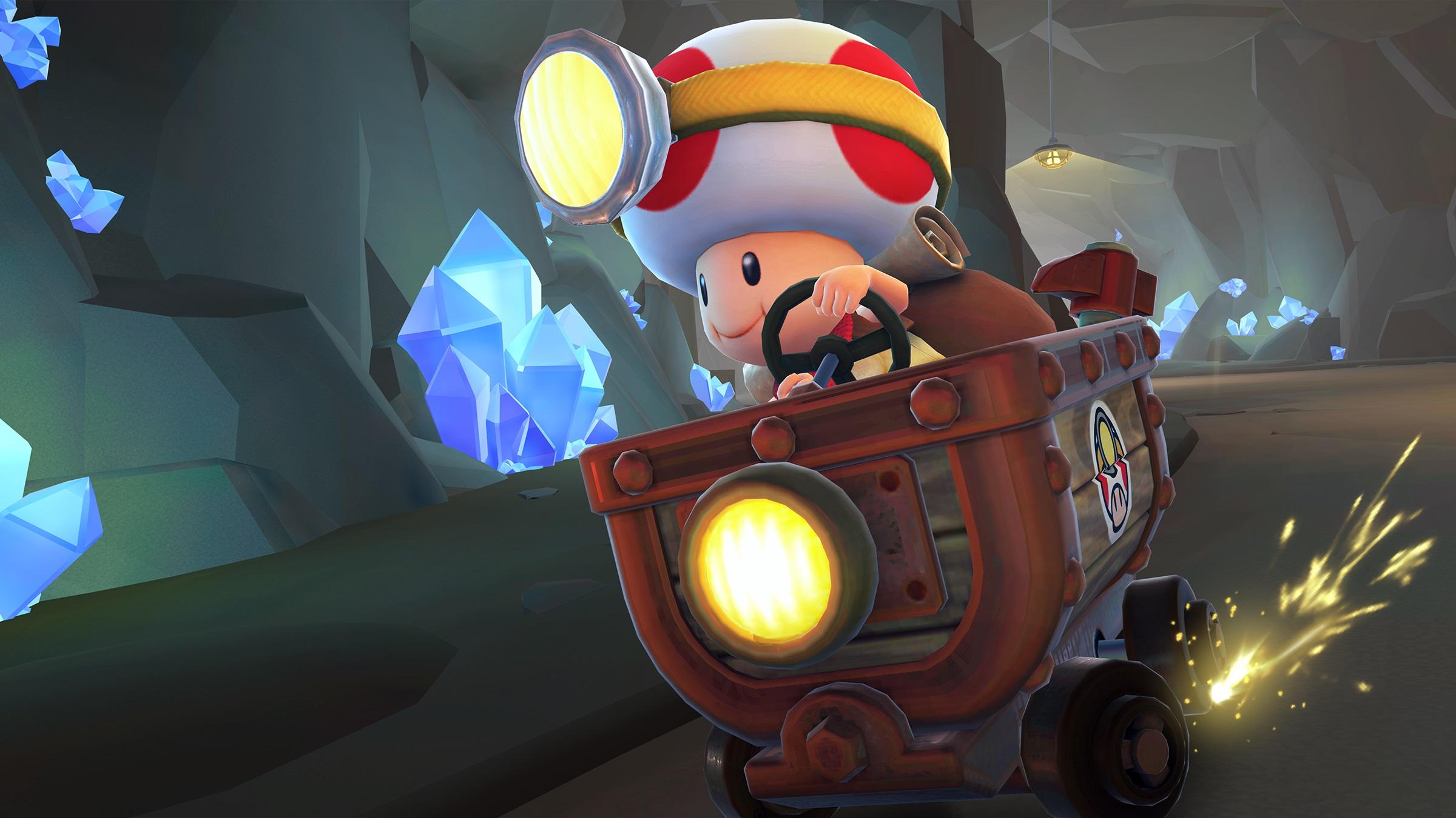 Mario Kart Tour gets an injection of Captain Toad: Treasure Tracker screenshot