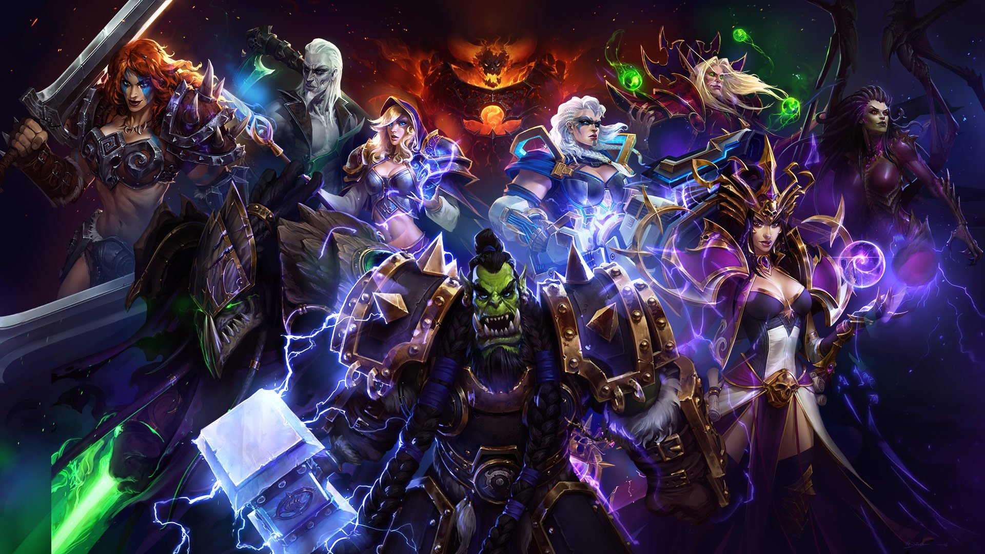Heroes of the Storm team: 'We don't see any end in sight' screenshot